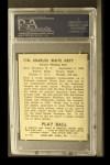 1940 Play Ball #118  Waite Hoyt  Back Thumbnail