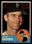 1963 Topps #364  Howie Goss  Front Thumbnail