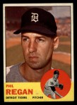1963 Topps #494  Phil Regan  Front Thumbnail