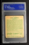 1933 Goudey Sport Kings #42  Carl Hubbell   Back Thumbnail