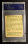 1935 Diamond Stars #76  Billy Rogell    Back Thumbnail
