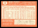1964 Topps #48  Bob Perry  Back Thumbnail