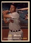 1957 Topps #78  Vic Wertz  Front Thumbnail