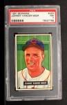 1951 Bowman #223  Johnny Vander Meer  Front Thumbnail