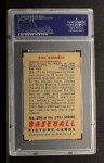 1951 Bowman #296  Bob Kennedy  Back Thumbnail