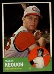 1963 Topps #21 ^xSTR^ Marty Keough  Front Thumbnail