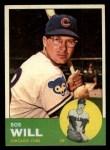 1963 Topps #58  Bob Will  Front Thumbnail