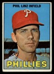 1967 Topps #14  Phil Linz  Front Thumbnail