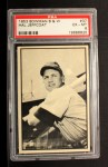 1953 Bowman Black and White #37  Hal Jeffcoat  Front Thumbnail