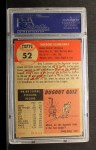 1953 Topps #52  Ted Gray  Back Thumbnail