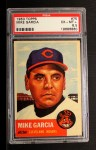 1953 Topps #75  Mike Garcia  Front Thumbnail