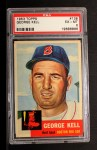 1953 Topps #138  George Kell  Front Thumbnail