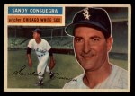 1956 Topps #265  Sandy Consuegra  Front Thumbnail