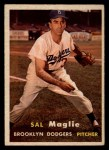 1957 Topps #5  Sal Maglie  Front Thumbnail