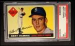 1955 Topps #199  Bert Hamric  Front Thumbnail