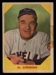 1960 Fleer #32  Al Simmons  Front Thumbnail
