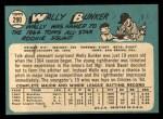1965 Topps #290  Wally Bunker  Back Thumbnail