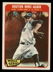 1965 Topps #137   -  Jim Bouton 1964 World Series - Game #6 - Bouton Wins Again Front Thumbnail