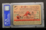 1958 Topps #100 WT Early Wynn  Back Thumbnail