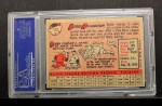 1958 Topps #101 *YN* Bobby Richardson  Back Thumbnail
