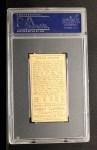 1911 T205 #96  Walter Johnson  Back Thumbnail