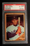 1962 Topps #190 CAP Wally Moon  Front Thumbnail