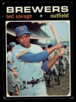 1971 Topps #76  Ted Savage  Front Thumbnail