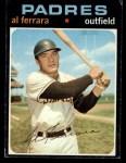 1971 Topps #214  Al Ferrara  Front Thumbnail
