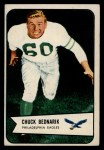 1954 Bowman #57  Chuck Bednarik  Front Thumbnail