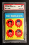 1963 Topps #544   -  Rusty Staub / Dick Phillips / Bill Haas / Duke Carmel Rookies   Front Thumbnail