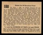 1938 Gum Inc. Horrors of War #188   Rebels Cut Off Barcelona Power Back Thumbnail