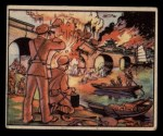 1938 Gum Inc. Horrors of War #61   Blowing Up the Wen River Railway Bridge Front Thumbnail
