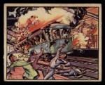 1938 Gum Inc. Horrors of War #70   Subway Blast Kills Madrid Civilians Front Thumbnail