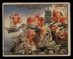 1938 Gum Inc. Horrors of War #124   Japanese Bomb Railhead at Suchow Front Thumbnail