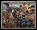 1938 Gum Inc. Horrors of War #127   Spear-armed Farmers Assault Japanese Front Thumbnail