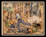 1938 Gum Inc. Horrors of War #134   Loyalist Air Raid at Majorca Front Thumbnail