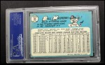 1965 Topps #95  Bill Mazeroski  Back Thumbnail