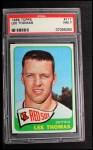 1965 Topps #111  Lee Thomas  Front Thumbnail