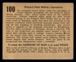 1938 Gum Inc. Horrors of War #100   Blizzard Halts Military Operations Back Thumbnail