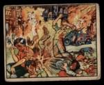 1938 Gum Inc. Horrors of War #22   Big Shells Kill Madrid Children at Play Front Thumbnail