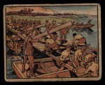 1938 Gum Inc. Horrors of War #64   Japanese Engineers Build Pontoon Bridge Front Thumbnail
