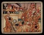 1938 Gum Inc. Horrors of War #37   Japanese Seize Vessel and Destroy U.S. Flag Front Thumbnail