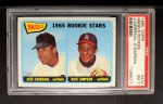 1965 Topps #374   -  Jose Cardenal / Dick Simpson Angels Rookies Front Thumbnail