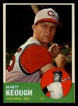 1963 Topps #21 *YEL* Marty Keough  Front Thumbnail