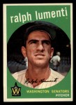 1959 Topps #316 OPT Ralph Lumenti  Front Thumbnail