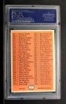 1966 Topps #517 W  Checklist 7 Back Thumbnail