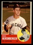 1963 Topps #254  Mike Hershberger  Front Thumbnail