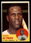 1963 Topps #357  George Altman  Front Thumbnail