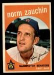 1959 Topps #311  Norm Zauchin  Front Thumbnail