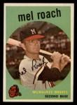 1959 Topps #54  Mel Roach  Front Thumbnail